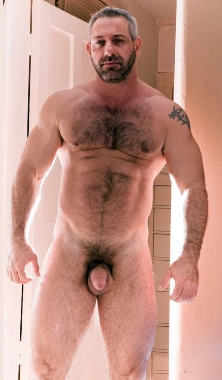 Hairy, Muscle And Older Men